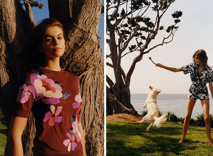 Kaia Gerber - American Vogue June July 2021 Issue