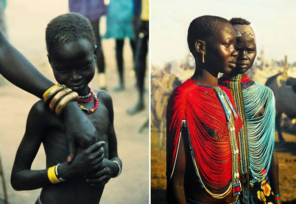 Incredible Pictures Of The Dinka People In Sudan