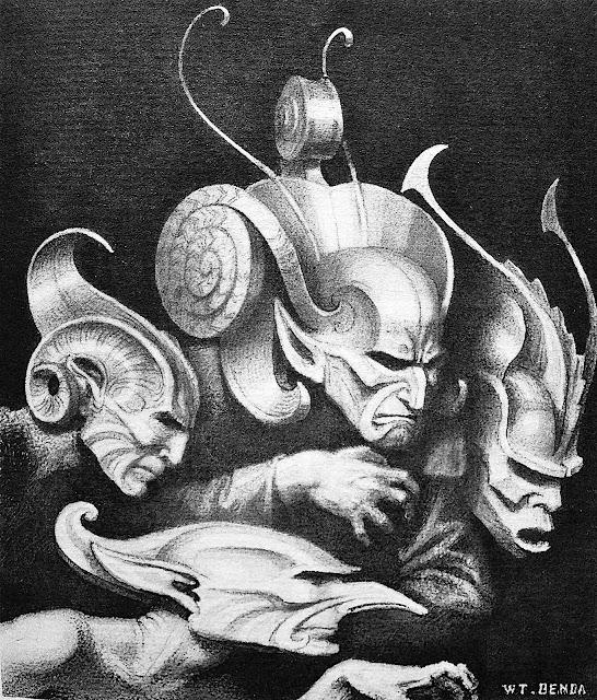 Wladyslaw Theodor Benda masks