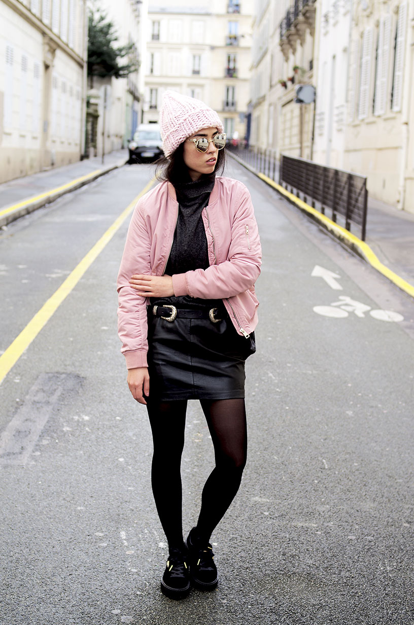 Elizabeth l Pink details outfit blog mode l Stradivarius Asos Zara l THEDEETSONE l http://thedeetsone.blogspot.fr