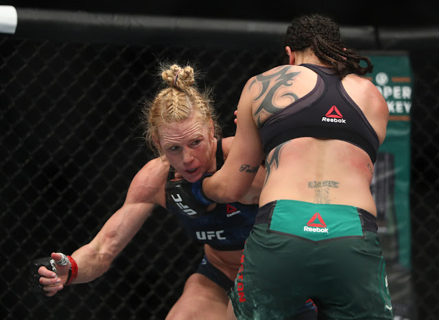 Holly Holm Outpoints Raquel Pennington Rematch