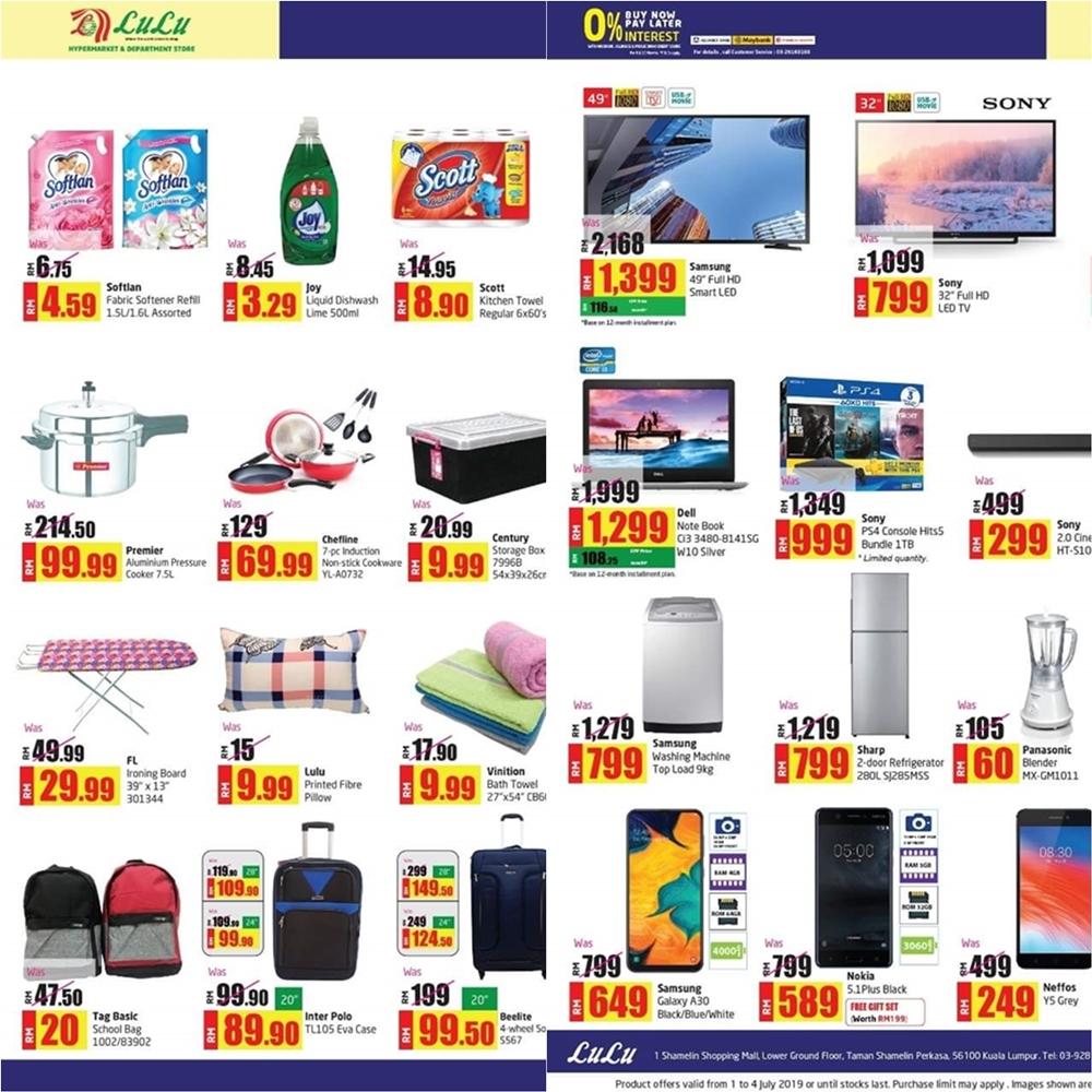 Happy at Lulu, Jom Ke Lulu, Lulu Hypermarket Kuala Lumpur, Rawlins GLAM, Rawlins Shops, Shopping Murah di KL, Second Lulu in Malaysia, Inaugural Sales in 1 Shamelin Mall