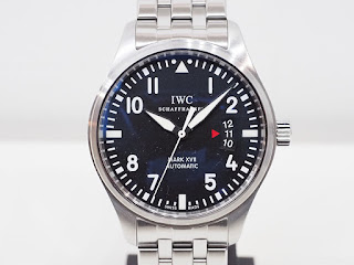 IWC パイロットウォッチ ブレスレット仕様のマーク17 お買い取り致しました
