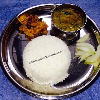 Vankaya Pulusu Pachadi and Kandi Pachadi