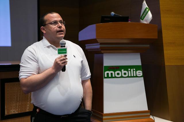 Formation  4G pour les Médias chez  Mobilis
