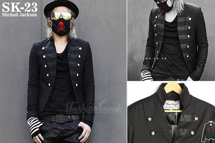 fashion cowok jaket michael jackson