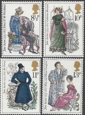 Great Britain 1975 Jane Austen