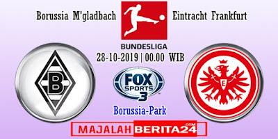 Prediksi Borussia M'gladbach vs Eintracht Frankfurt — 28 Oktober 2019