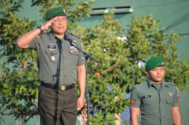 Pimpin Upacara Bendera, Ini Amanat Pangdam XIV Hsn yang Dibacakan Kasrem 141/Tp