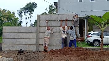 pagar panel beton di Semarang