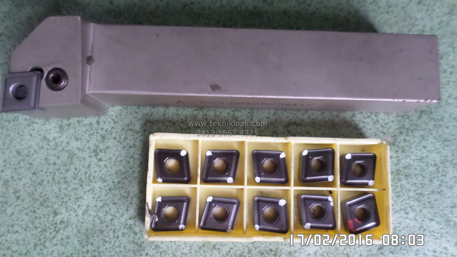 Paket Holder Bubut dan Insert CNMG 12 04 | Holder Bubut | Stang Bubut