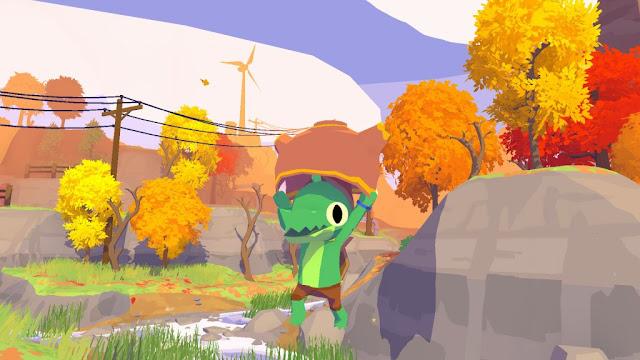 Lil Gator Game, título indie de aventura e exploração, é anunciado para Switch