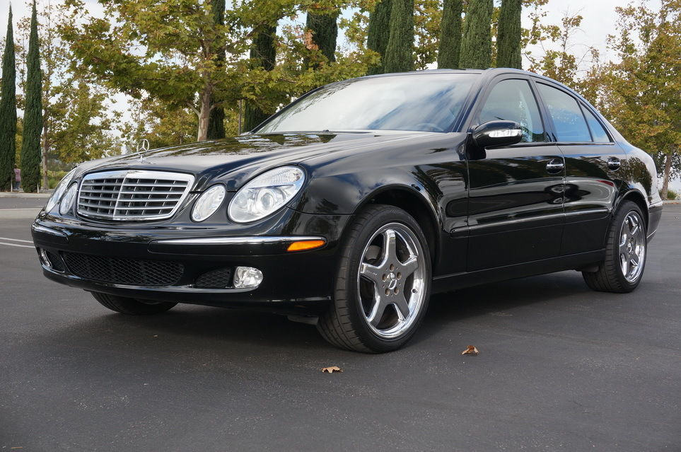 daily turismo almost new 2003 mercedes benz e320 w211. Black Bedroom Furniture Sets. Home Design Ideas