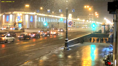 LIVE CAMERA Nevskiy avenue St. Petersburg Russia