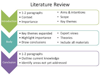 what literature review should include
