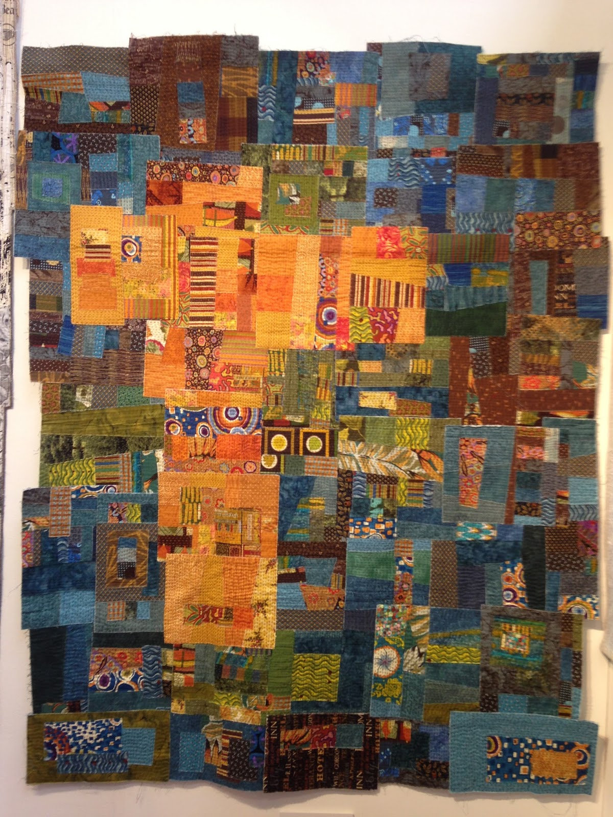 Piece 39 n 39 peace festival of quilts 2016 harmony for Festival of quilts birmingham 2016
