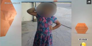 Menina da PB que estava desaparecida é achada em PE
