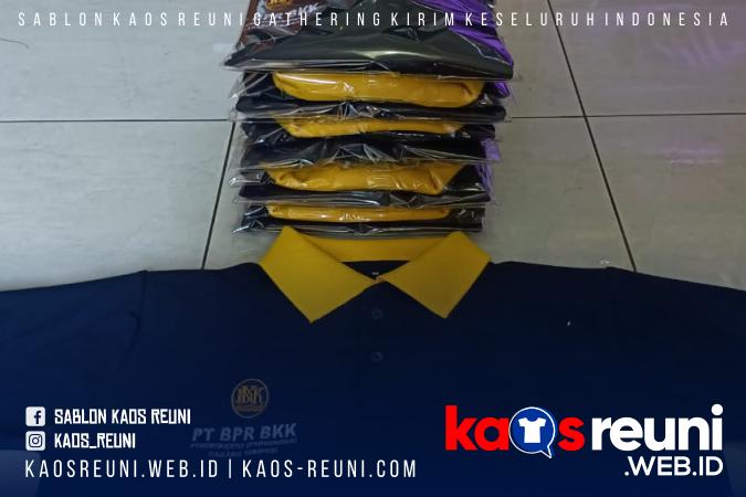 Baju Kerah Polo Bordir PT BPR BKK