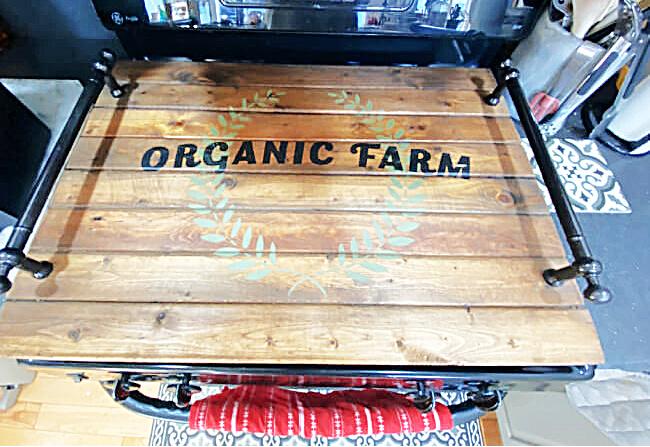DIY Farmhouse Noodle Board