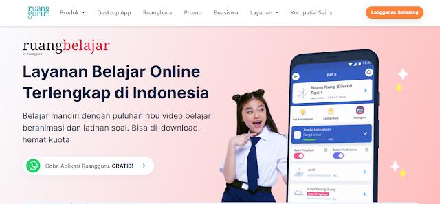 ruangbelajar layanan belajar online terbaik