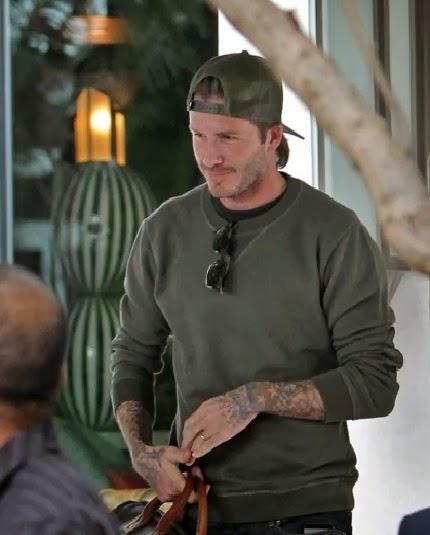 Wear It Like Beckham David Beckham In Maison Martin