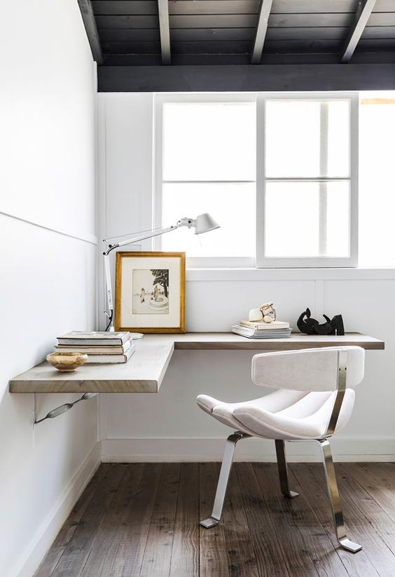 minimalist design idea for working spase in your home