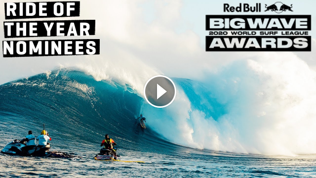 THE GNARLIEST BIG WAVE RIDES OF THE YEAR Red Bull Big Wave Awards