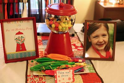 D I Y Louisville Bubble Gum Birthday Party