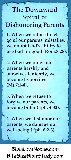 honor parents, adult children honor parents, quit judging parents