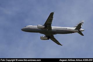 AVIÓN AIRBUS A320 SX-DVT