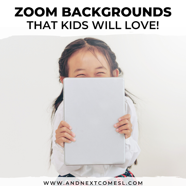 Fun Zoom virtual backgrounds for kids