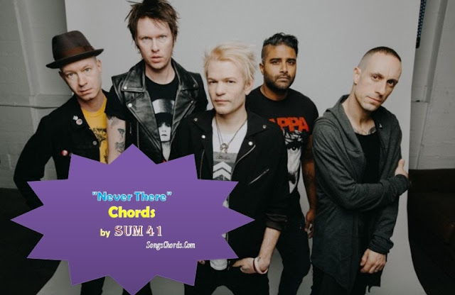 Sum 41 - Never There Lyrics and Chords