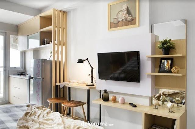 Trik Untuk Memaksimalkan Apartemen Berukuran Studio