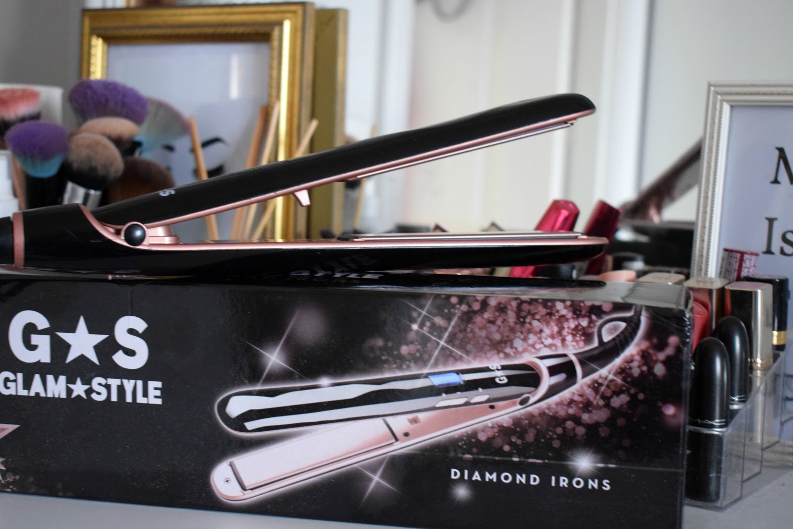 Glam & Style Diamond Irons hair straighteners review