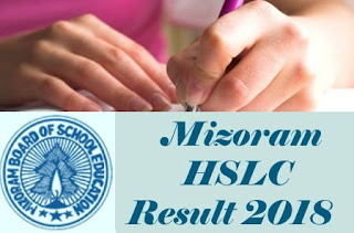 MBSE HSLC Results 2018, MBSE HSLC 2018 Result, Mizoram Board 10th Results 2018