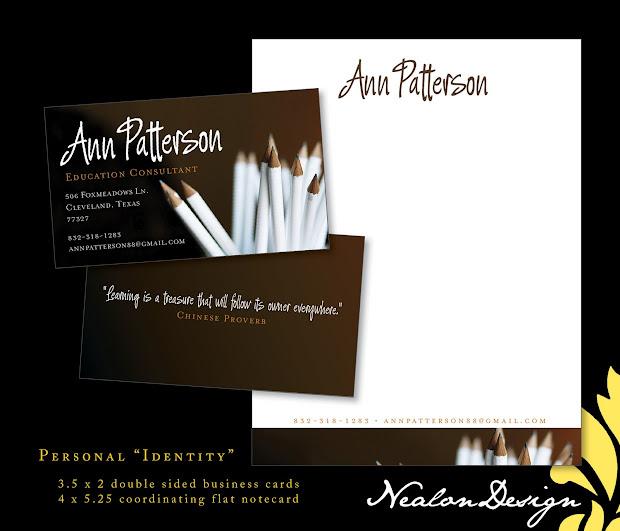 Nealon Design Independent Professional Education Consultant