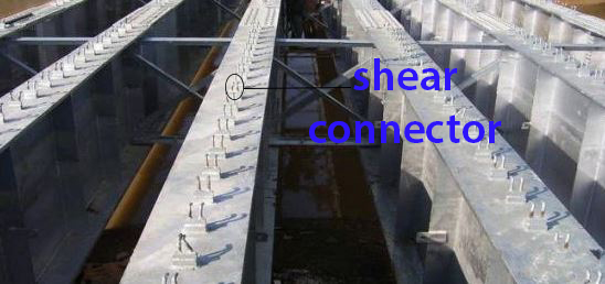 fungsi shear connector girder jembatan
