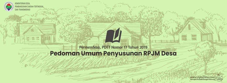 Pedoman Penyusunan RPJM Desa