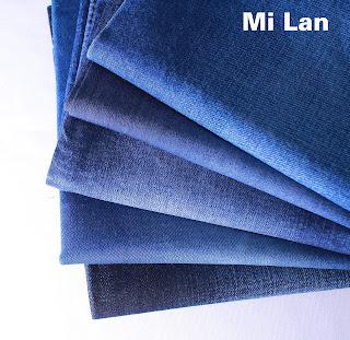 Vải Jean giặt sẵn giá rẻ