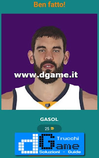 Soluzioni Guess The Basketball Player livello 9