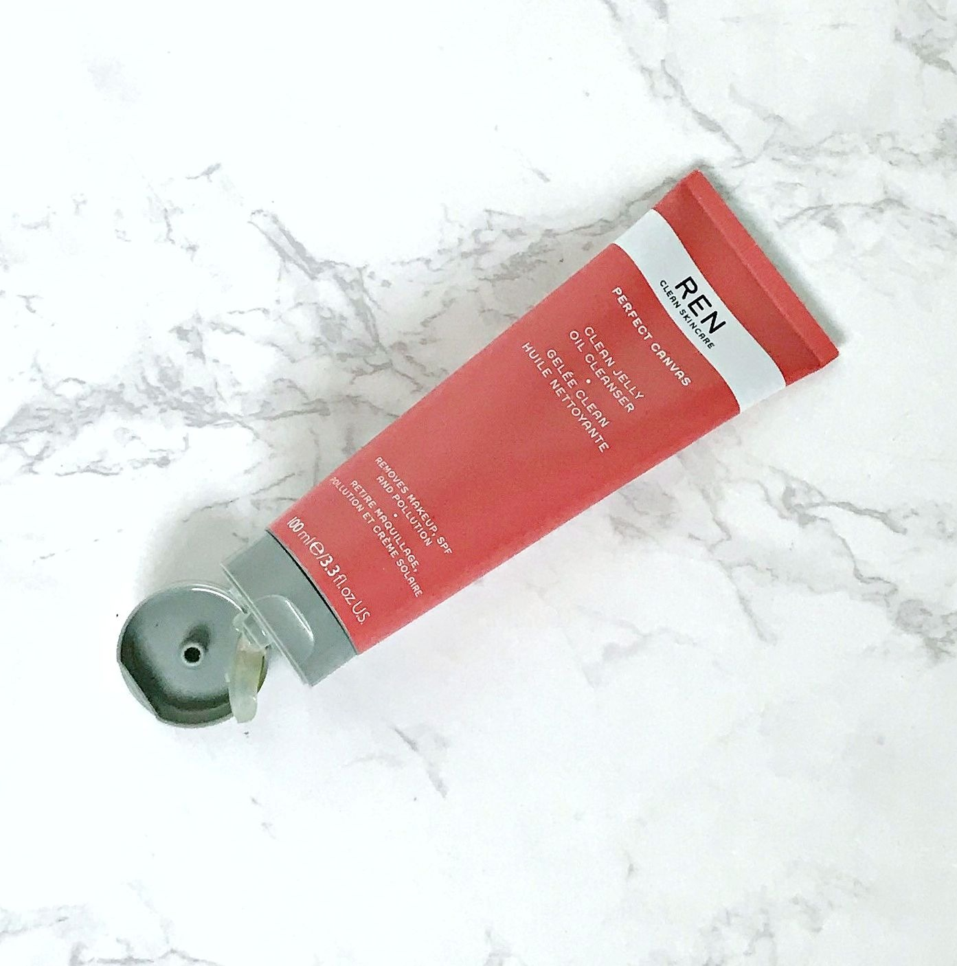 REN Perfect Canvas Clean Jelly Oil Cleanser Review