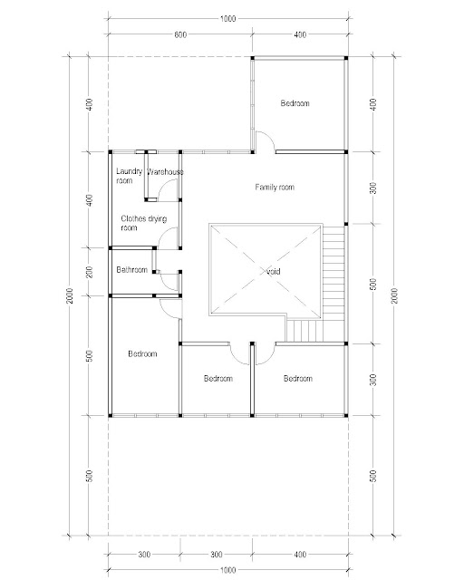 2nd Floor Plan for Plan c-08