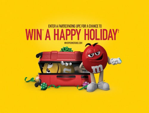 M&Ms Win a Happy Holiday Contest