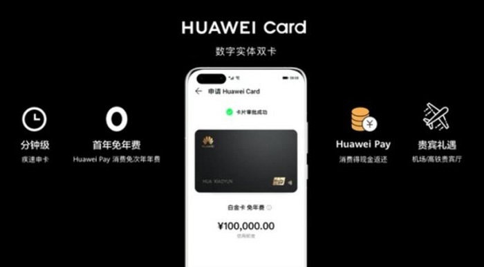Huawei Credit Card With VIP Lounge Access to Airports, Train Stations, Cashbacks & Many More