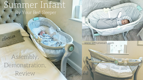 Summer Infant By Your Bed Sleeper review and demonstration