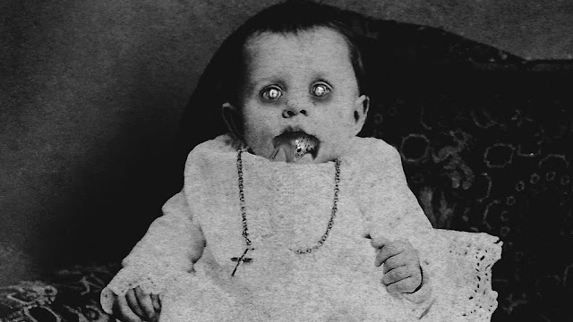 Sebaiknya Kamu Lari Ketika Bertemu Bayi Setan Berikut Ini! Selain Menyeramkan Juga Akan Menghisap Darahmu Loh! Inilah Penampakannya