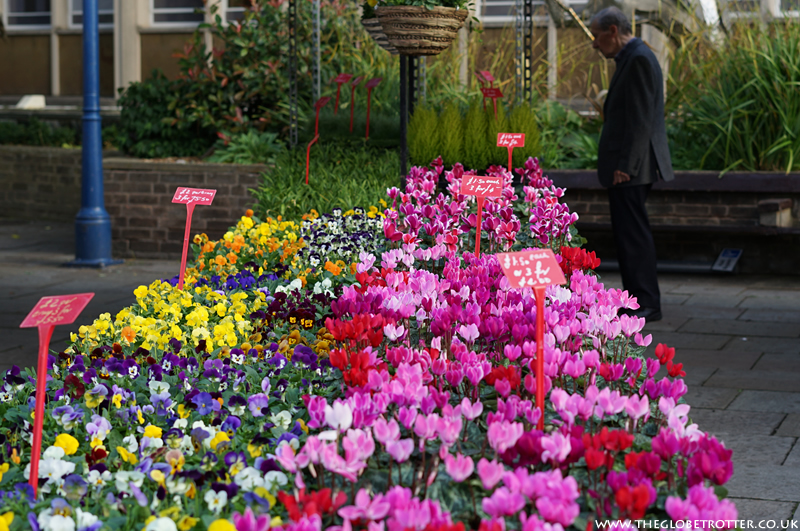 Flower markets in London