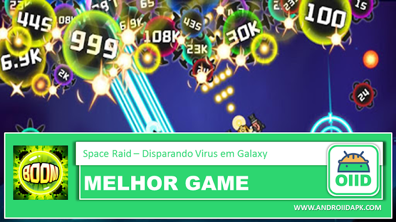 Space Raid - Disparando Virus en Galaxy