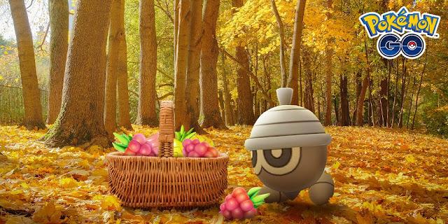 Pokémon GO: Evento de Outono