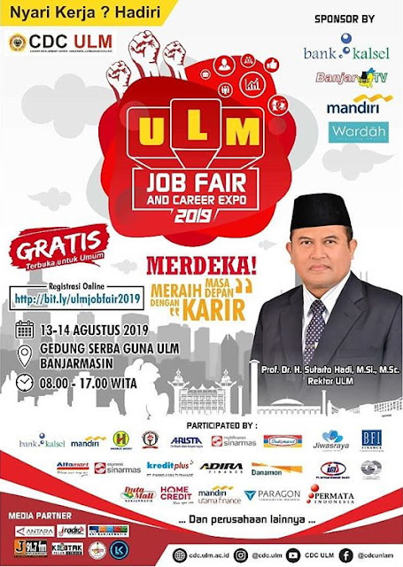 ULM Job Fair Bulan Agustus 2019